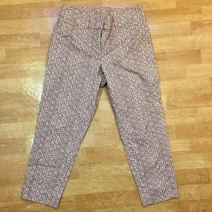 LOFT Cropped Ankle Pants Riviera Fit Size 10